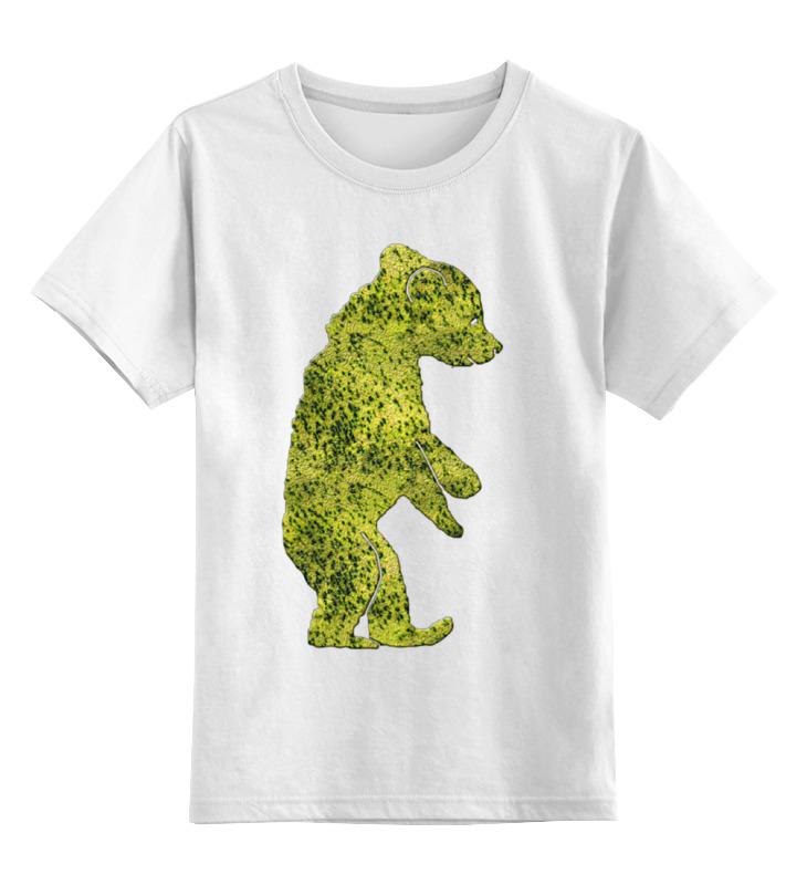 Детская футболка классическая унисекс Printio Медвеженок мягкая игрушка медвеженок тэди