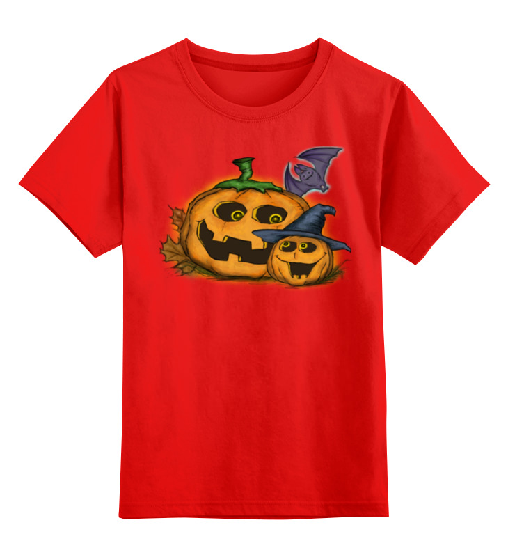 все цены на Детская футболка классическая унисекс Printio Тыква