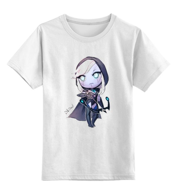 Детская футболка классическая унисекс Printio Dota 2 drow ranger miy цена 2017