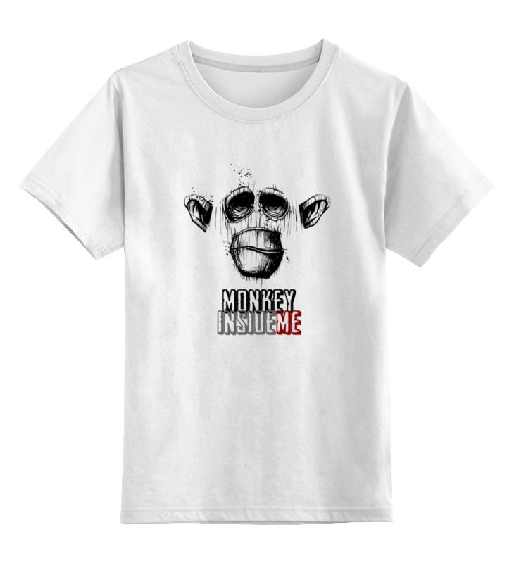Printio Обезьяна внутри меня футболка wearcraft premium printio обезьяна внутри меня