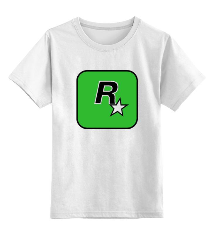 Детская футболка классическая унисекс Printio Rockstar games