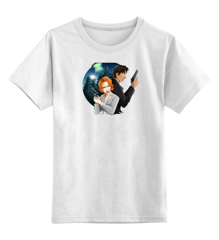 Детская футболка классическая унисекс Printio I want to believe платье to want to yx15qz1691 2015 9 13