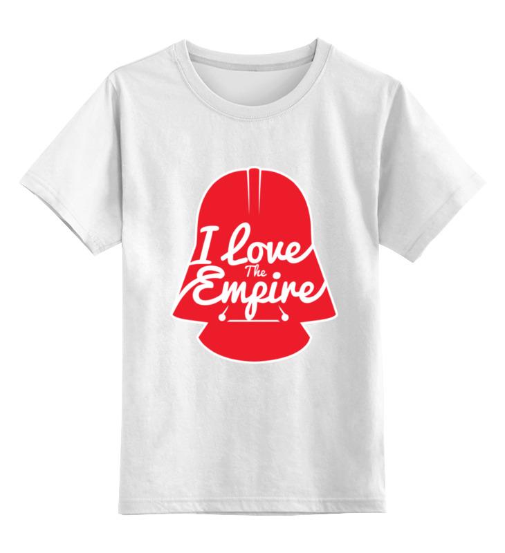 Детская футболка классическая унисекс Printio Love the empire детская футболка классическая унисекс printio i love you beary much