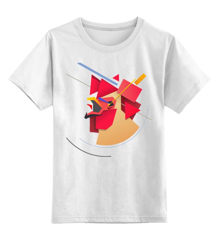 Детская футболка классическая унисекс Printio Suprematic cock