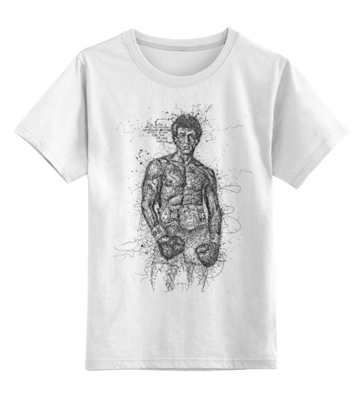 Детская футболка классическая унисекс Printio Rocky цены