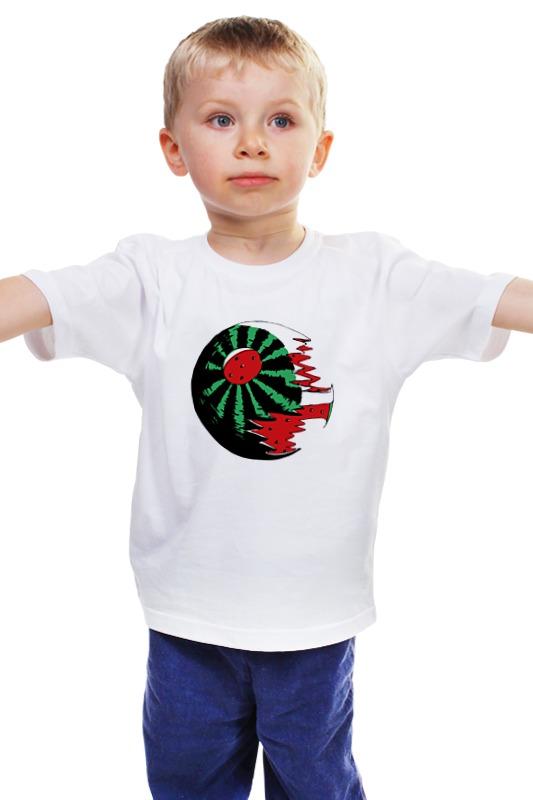 Детская футболка классическая унисекс Printio Death melon детская футболка классическая унисекс printio death