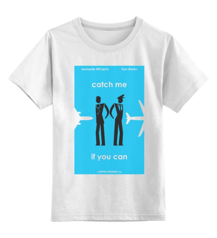 где купить Детская футболка классическая унисекс Printio Catch me по лучшей цене