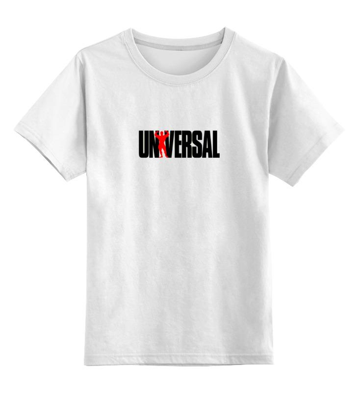 Детская футболка классическая унисекс Printio Universal nutrition