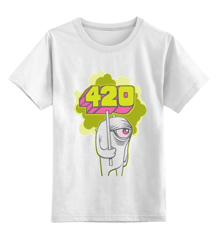 Детская футболка классическая унисекс Printio 420 сумка printio 420
