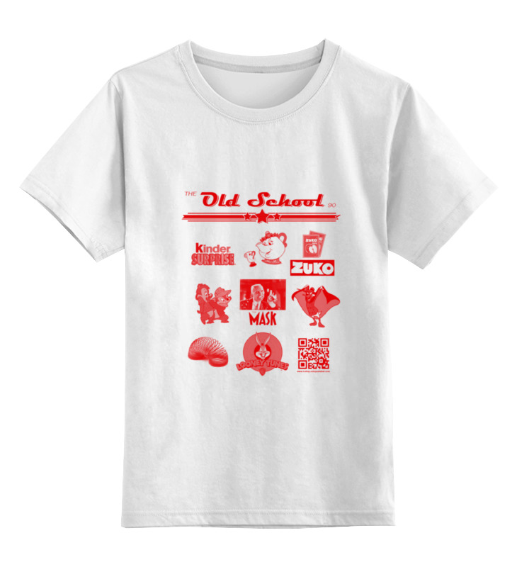 Детская футболка классическая унисекс Printio the old school 90 series iv майка классическая printio the old school 90 series iv