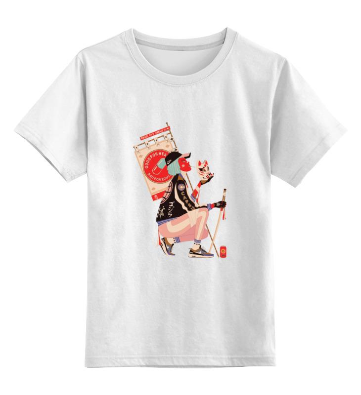 Детская футболка классическая унисекс Printio деушка