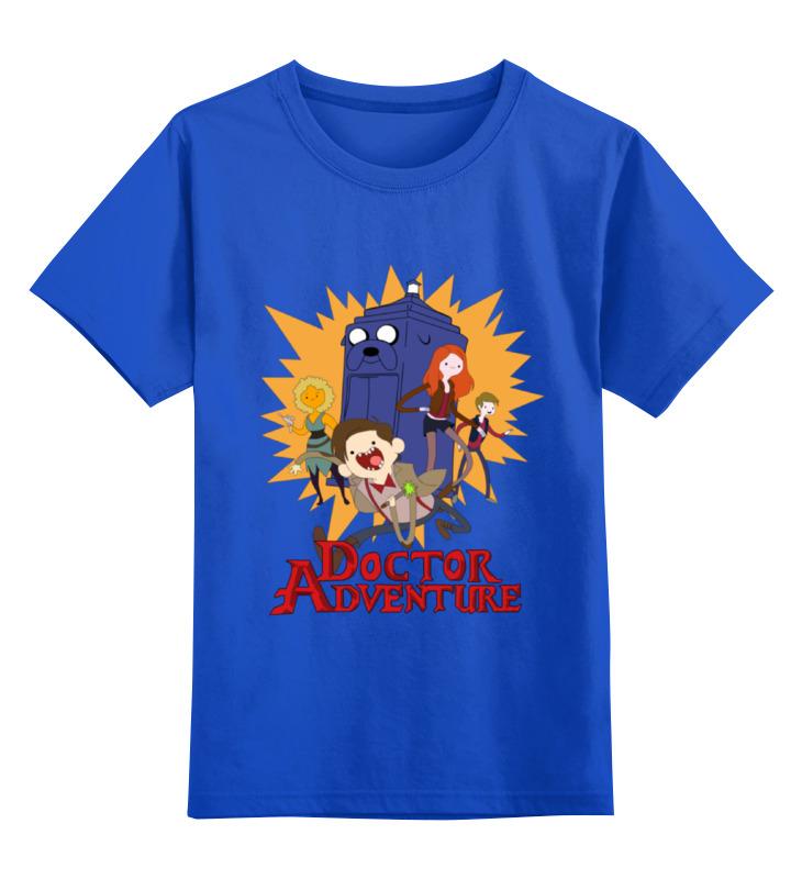 Детская футболка классическая унисекс Printio Doctor adventure time майка классическая printio doctor adventure time
