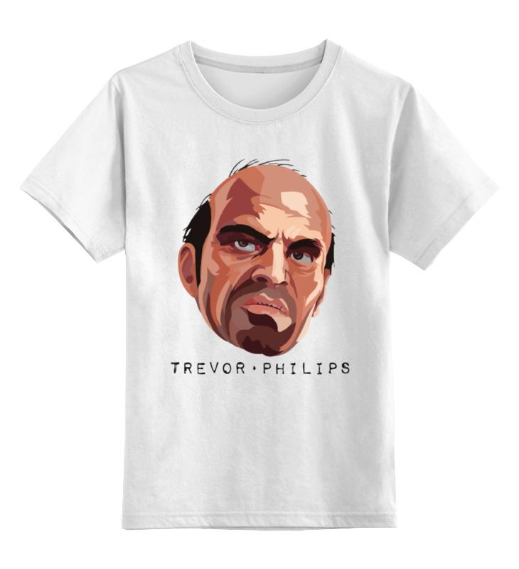 Детская футболка классическая унисекс Printio Тревор из gta футболка классическая printio тревор филипс