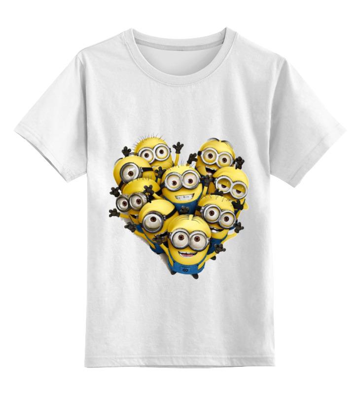 Детская футболка классическая унисекс Printio Миньоны детская футболка классическая унисекс printio миньоны