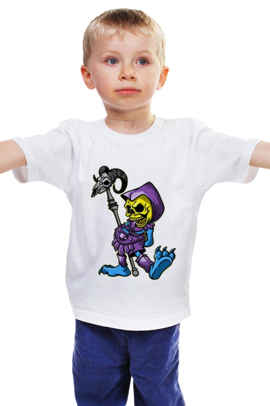 Детская футболка классическая унисекс Printio Скелетон детская футболка классическая унисекс printio мачете