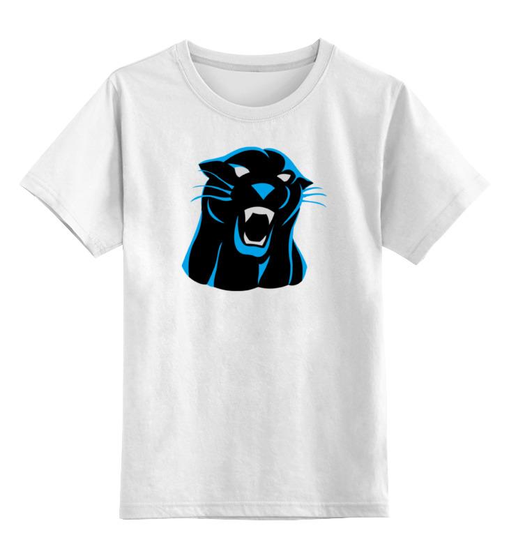 Детская футболка классическая унисекс Printio Черная пантера футболка черная детская без рисунка