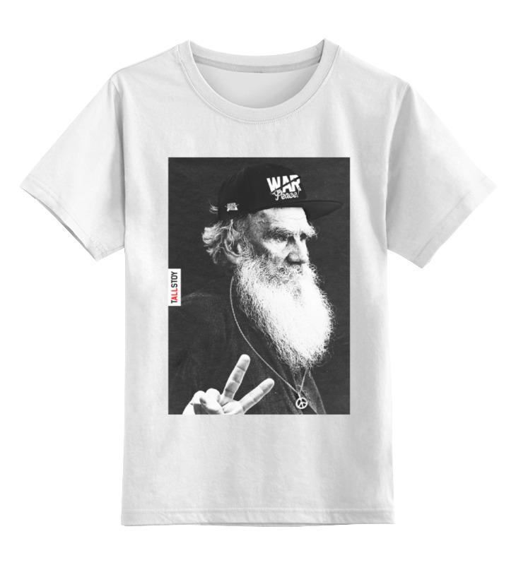 Детская футболка классическая унисекс Printio tolstoy by design ministry футболка классическая printio norilsk 24 by design ministry city