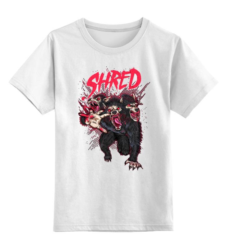 Детская футболка классическая унисекс Printio Shred цена