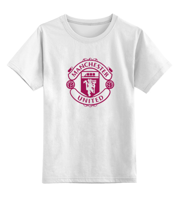 Детская футболка классическая унисекс Printio manchester united майка классическая printio manchester united