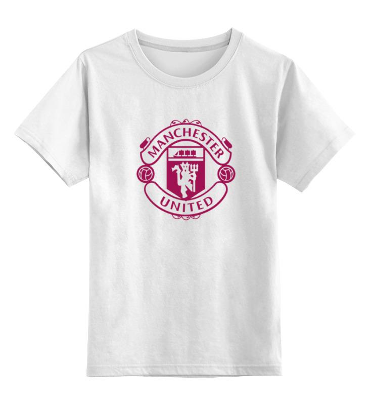 Детская футболка классическая унисекс Printio manchester united hardy caprio manchester