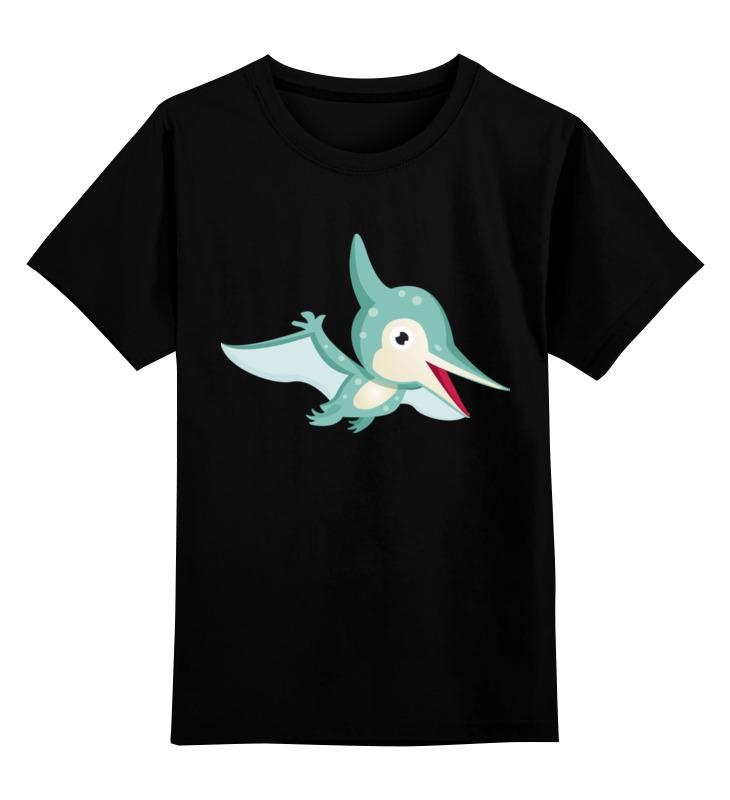 Детская футболка классическая унисекс Printio Птеродактиль цена и фото