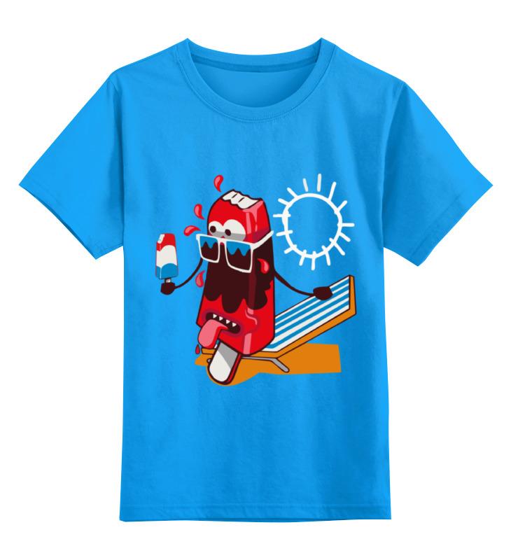 Детская футболка классическая унисекс Printio ice cream детская футболка классическая унисекс printio ice cream