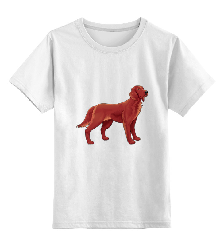 Детская футболка классическая унисекс Printio Спаниель кавалер кинг чарльз спаниель архангельск