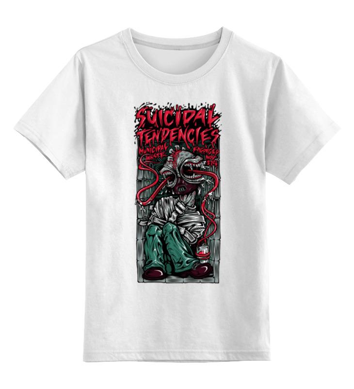 Детская футболка классическая унисекс Printio Suicidal tendencies band