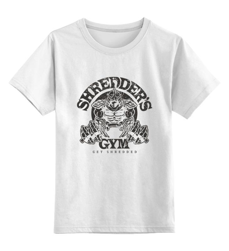 Детская футболка классическая унисекс Printio Get shredded
