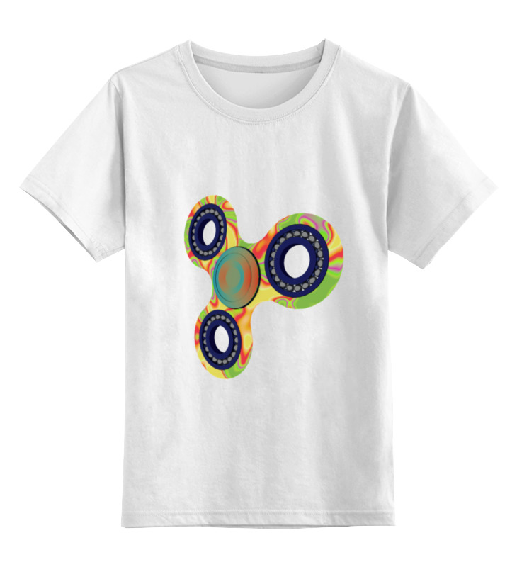 Детская футболка классическая унисекс Printio Спиннер майка классическая printio мамочкин спиннер