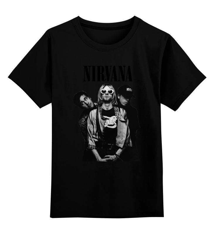 Детская футболка классическая унисекс Printio Nirvana group t-shirt nirvana
