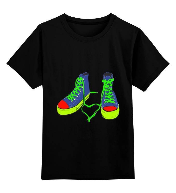 Детская футболка классическая унисекс Printio Цветные кеды детская футболка классическая унисекс printio бразилия