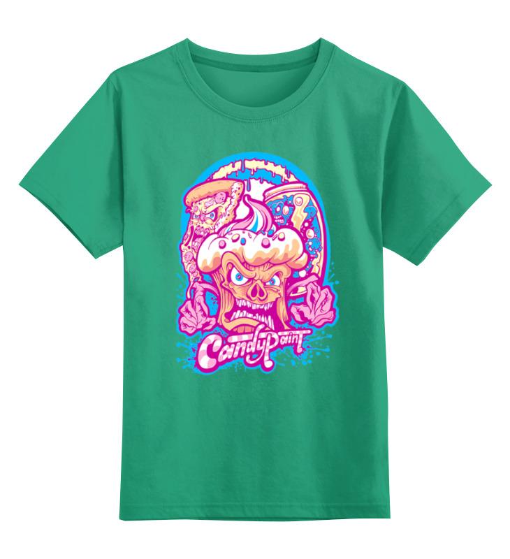 Детская футболка классическая унисекс Printio Череп арт