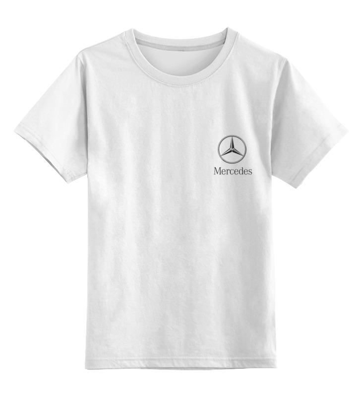 Детская футболка классическая унисекс Printio Mercedes mercedes а 160 с пробегом
