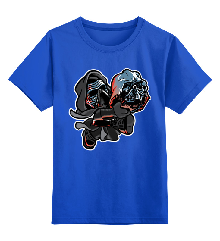 Детская футболка классическая унисекс Printio Кайло рен и дарт вейдер детская футболка классическая унисекс printio кайло рен и капитан фазма