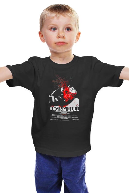 Детская футболка классическая унисекс Printio Raging bull / бешеный бык dvd влюбленные р де ниро