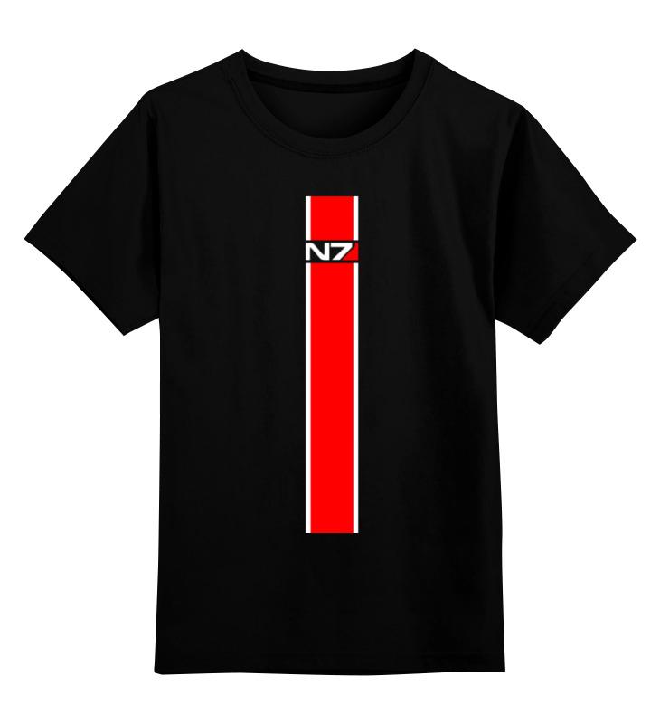 Детская футболка классическая унисекс Printio N7 (масс эффект) marathon n7 with sde h37l1 handpiece dental lab micromotor equipment