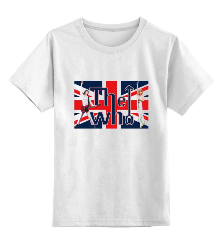 Детская футболка классическая унисекс Printio Группа the who футболка классическая printio группа the who