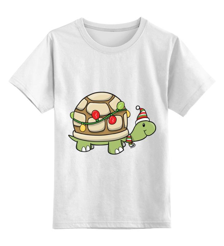 Фото - Детская футболка классическая унисекс Printio Черепаха новый год худи print bar новый год 2017