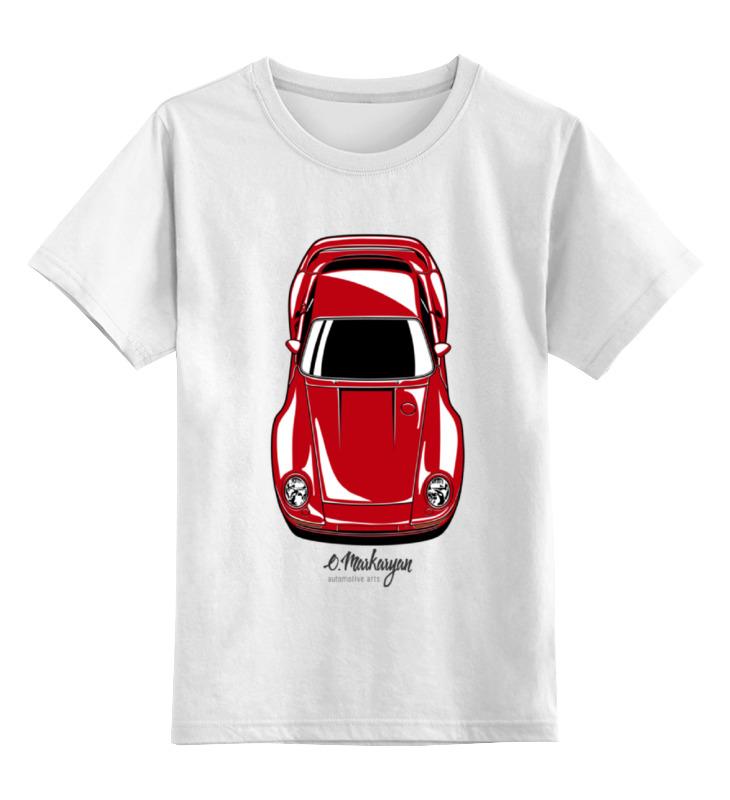 Детская футболка классическая унисекс Printio Porsche 959 футболка print bar porsche
