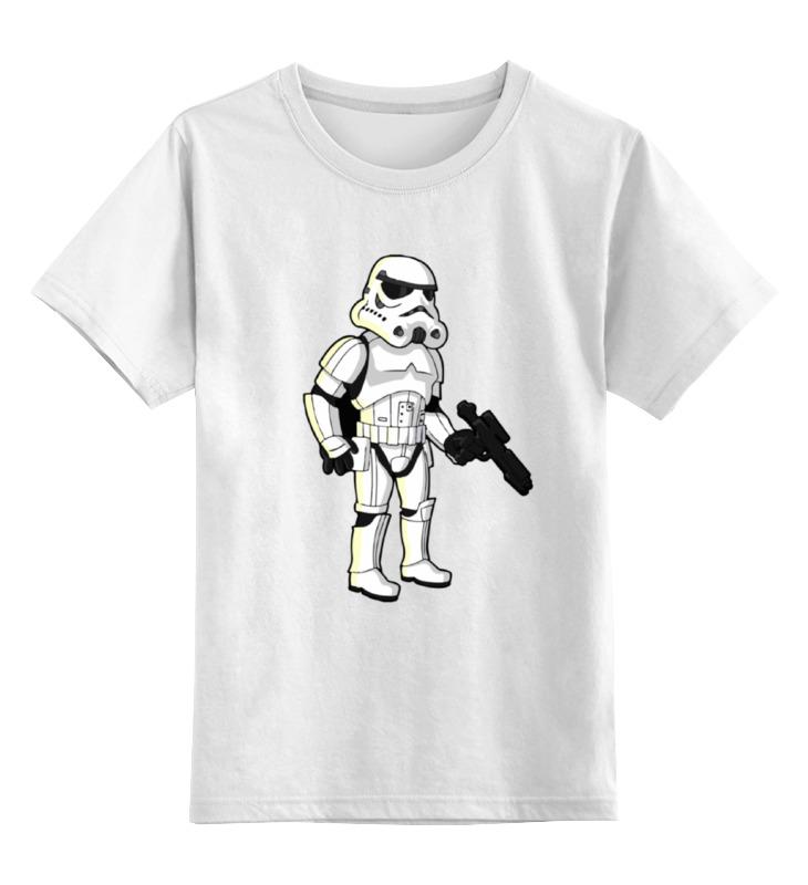 Детская футболка классическая унисекс Printio Star wars - штурмовик футболка классическая printio r2 d2 star wars
