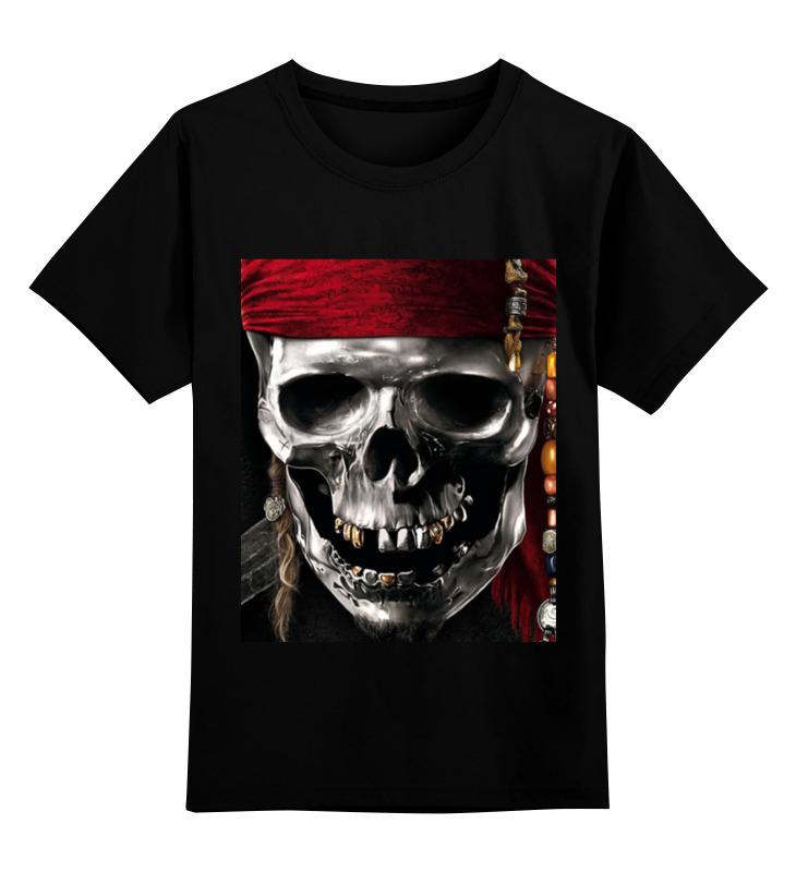 Детская футболка классическая унисекс Printio Пираты карибского моря