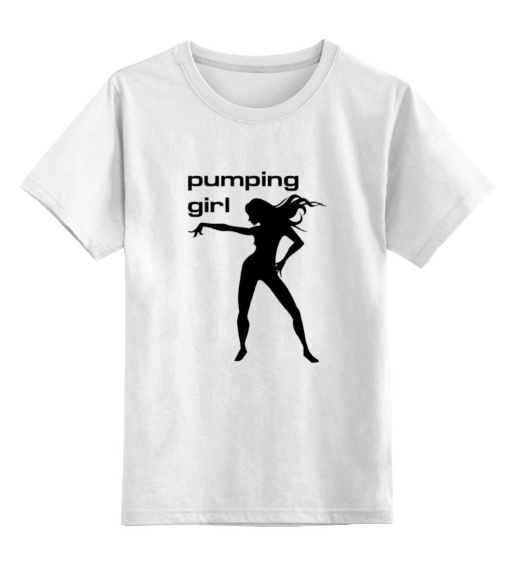 цена на Детская футболка классическая унисекс Printio Pumping girl #1