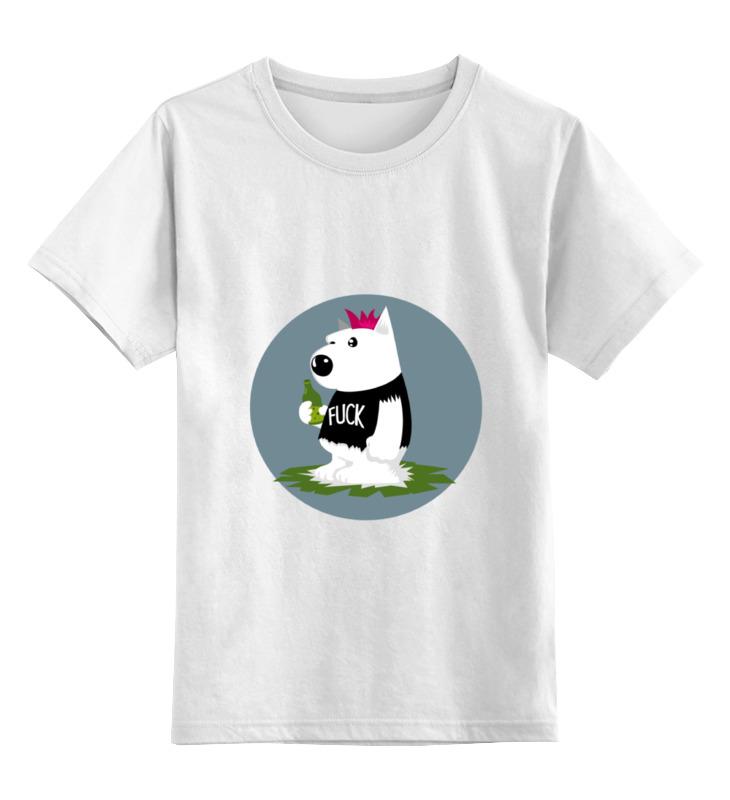Детская футболка классическая унисекс Printio Bad dog детская футболка классическая унисекс printio gta 5 dog