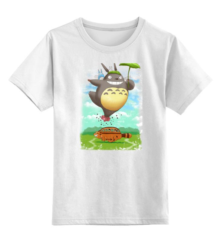 Детская футболка классическая унисекс Printio Мой сосед тоторо блокнот printio мой сосед тоторо