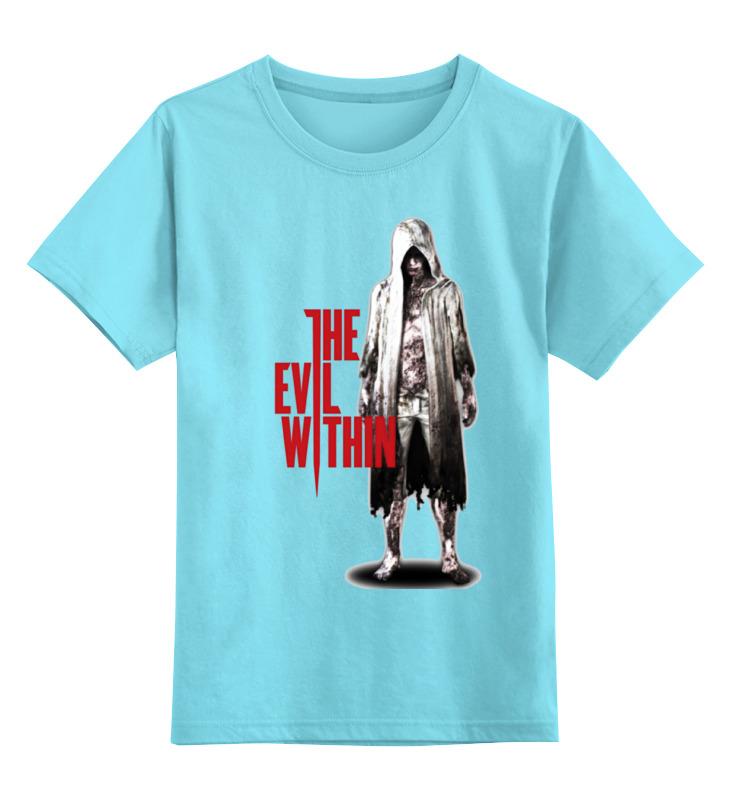 Детская футболка классическая унисекс Printio The evil within