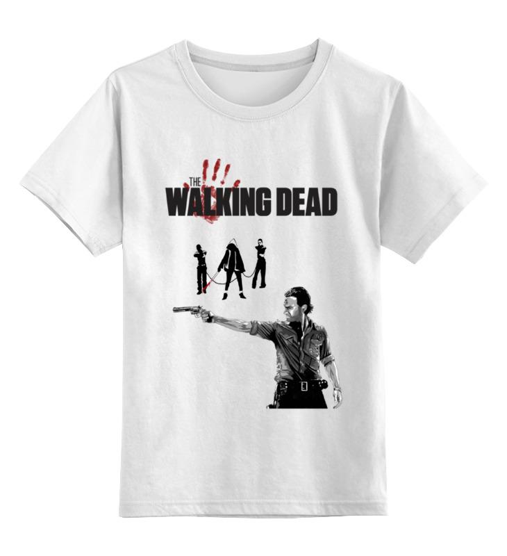Детская футболка классическая унисекс Printio The walking dead футболка классическая printio walking dead