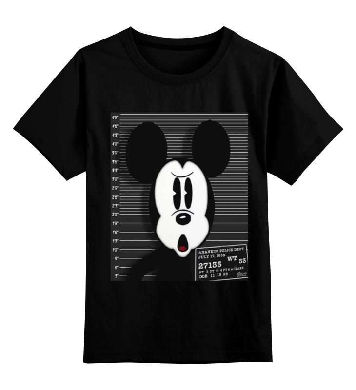 Детская футболка классическая унисекс Printio Микки маус детская футболка классическая унисекс printio мотобайк