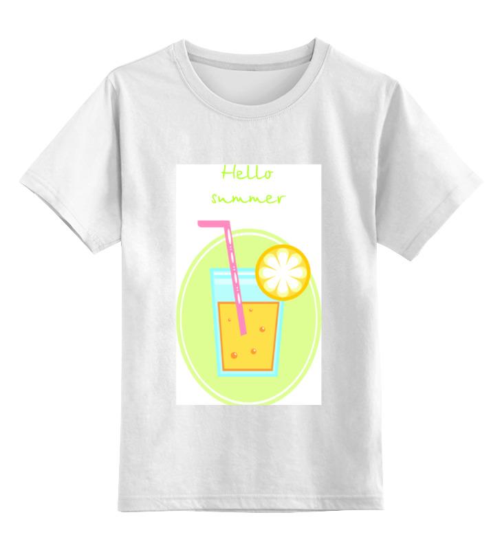 Printio Cocktail summer детская футболка классическая унисекс printio love summer