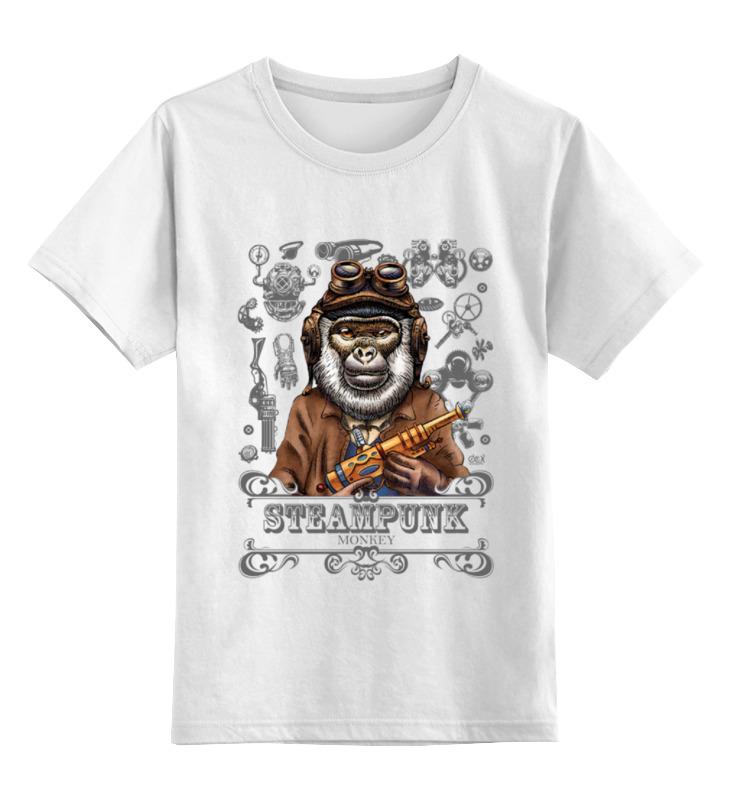 Детская футболка классическая унисекс Printio Steampunk monkey детская футболка классическая унисекс printio hamlet monkey